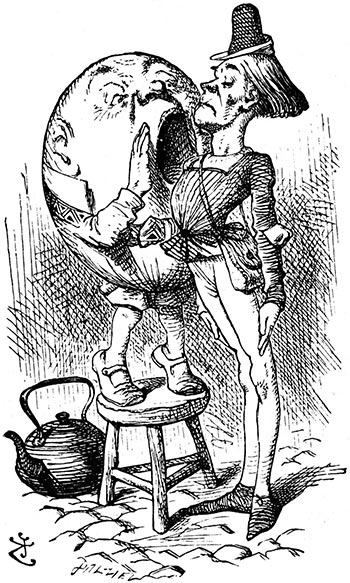 Ilustración por John Tenniel 1865